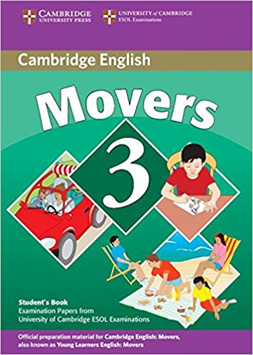 CAMBRIDGE YOUNG LEARNERS ENGLISH TESTS 2nd ED Movers 3 Student's Book