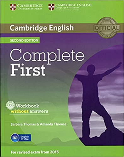 Complete First 2nd Ed Workbook without answers + AudioCD