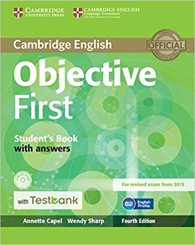 Objective First 4th Ed Student's Book with answers + CD-ROM + Testbank