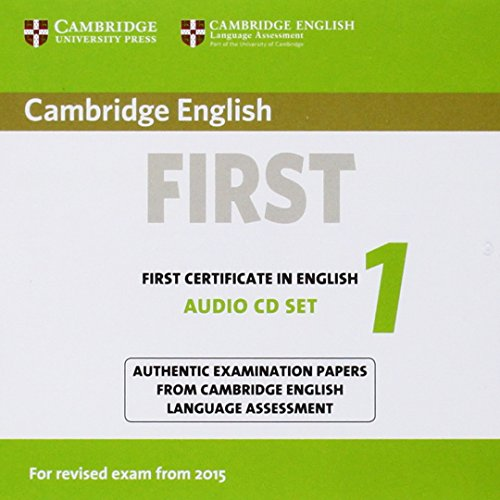 Cambridge English First1 for revised exam from 2015 AudioCDs x2