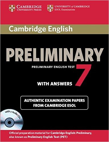 Cambridge PET 7 Self-Study Student's Book with answers + AudioCD