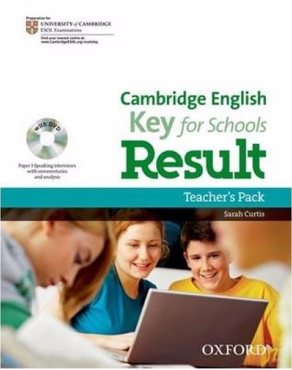 CAMBRIGE ENGLISH KEY FOR SCHOOLS RESULT Teacher's Book + DVD-ROM