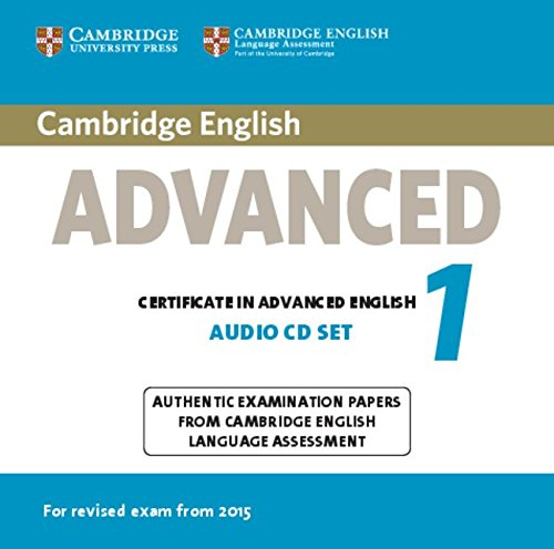 CAMBRIDGE ENGLISH ADVANCED 1 2015 Class Audio CD