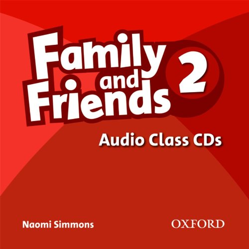 FAMILY AND FRIENDS 2 Class Audio CD