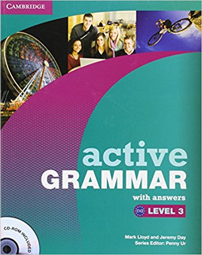 ACTIVE GRAMMAR 3 Book with Answers + CD-ROM