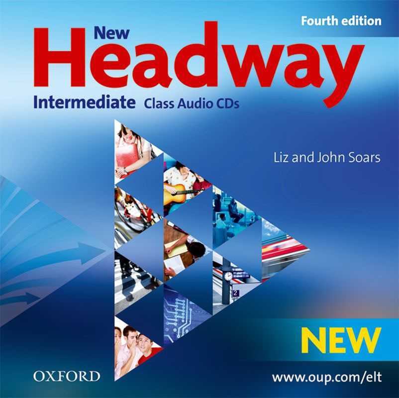 NEW HEADWAY INTERMEDIATE 4th ED Audio CD