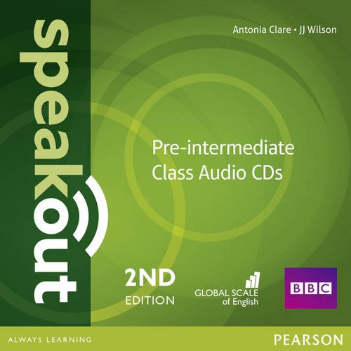 SPEAKOUT  PRE-INTERMEDIATE 2nd ED Audio CD