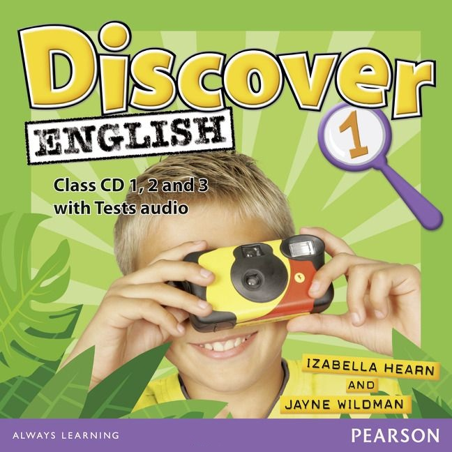 DISCOVER ENGLISH GLOBAL 1 Class Audio CD (x3)
