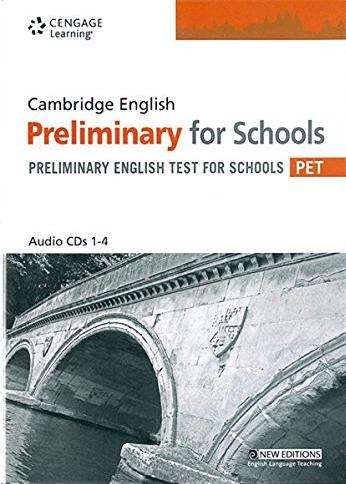 Cambridge PET For Schools Pract Tests AudioCD(x2)