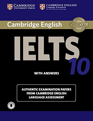 CAMBRIDGE IELTS 10 Student's Book with Answers + Audio CD