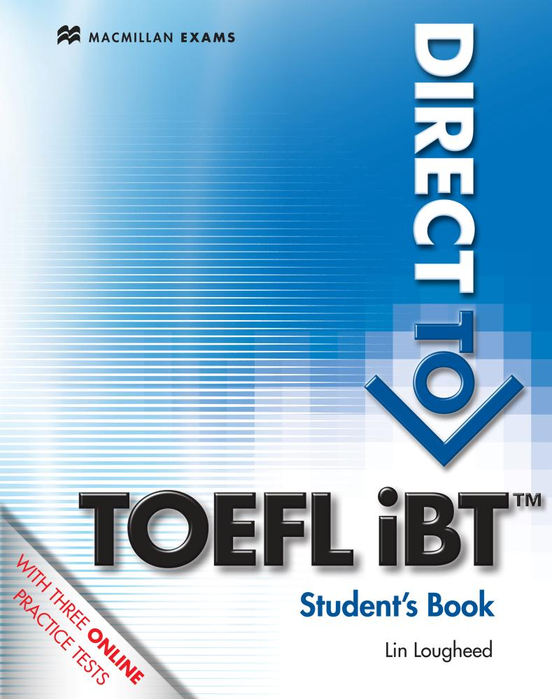 DIRECT TO TOEFL IBT Student's Book + Website access