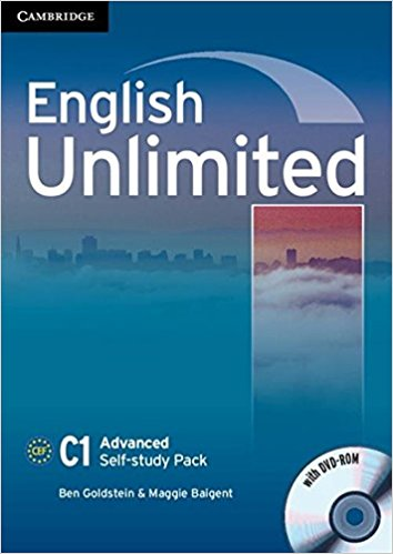 ENGLISH UNLIMITED ADVANCED Self-Study Pack + DVD-ROM