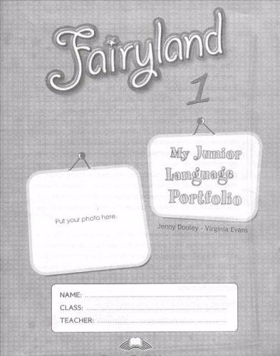 FAIRYLAND 1 My Language Portfolio