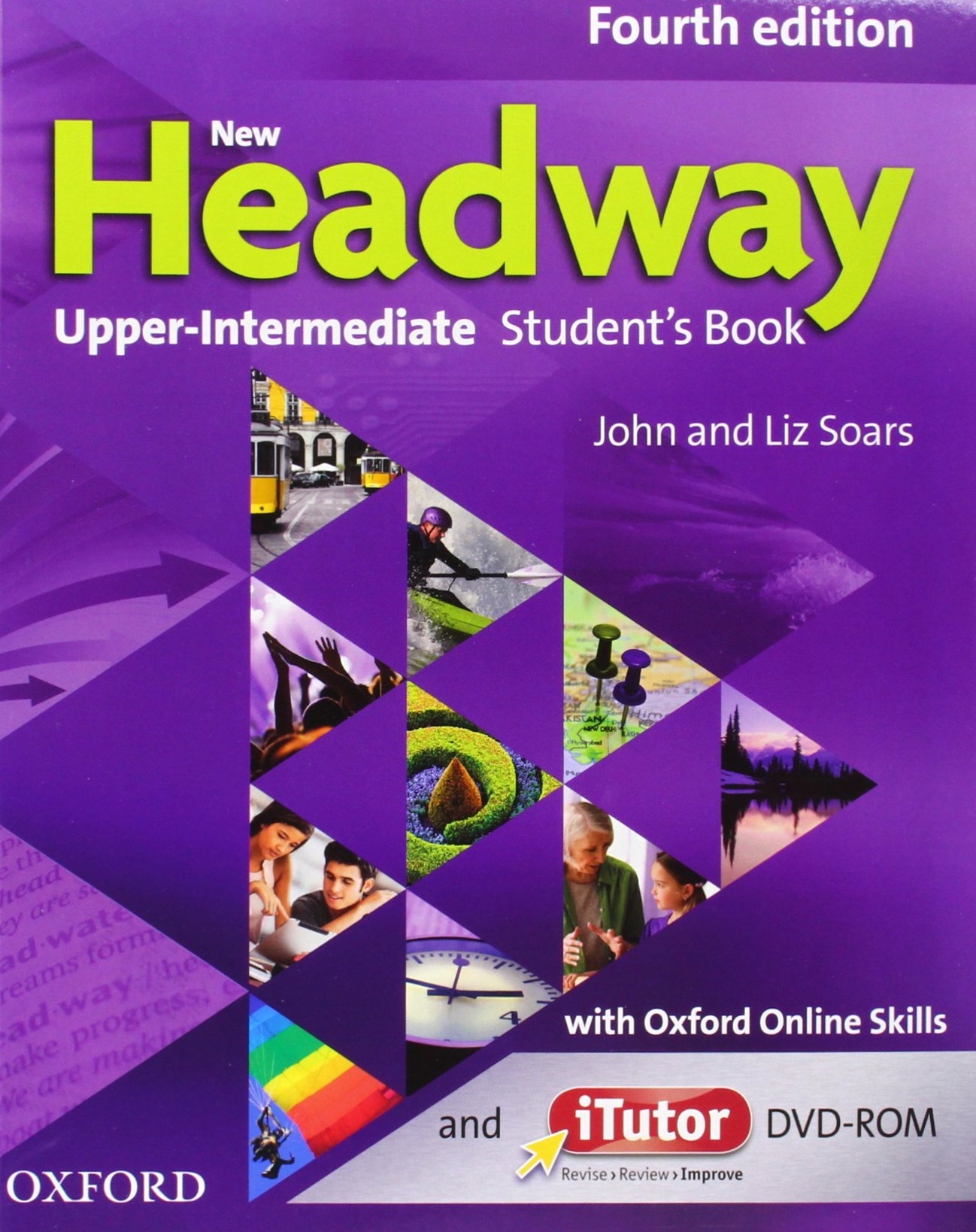 NEW HEADWAY UPPER-INTERMEDIATE 4th ED Student's Book + iTutor and Online Skills Pack