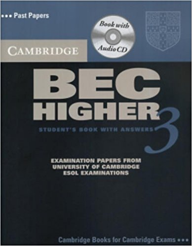 CAMBRIDGE BEC 3 HIGER Student's Book with Answers + Audio CD