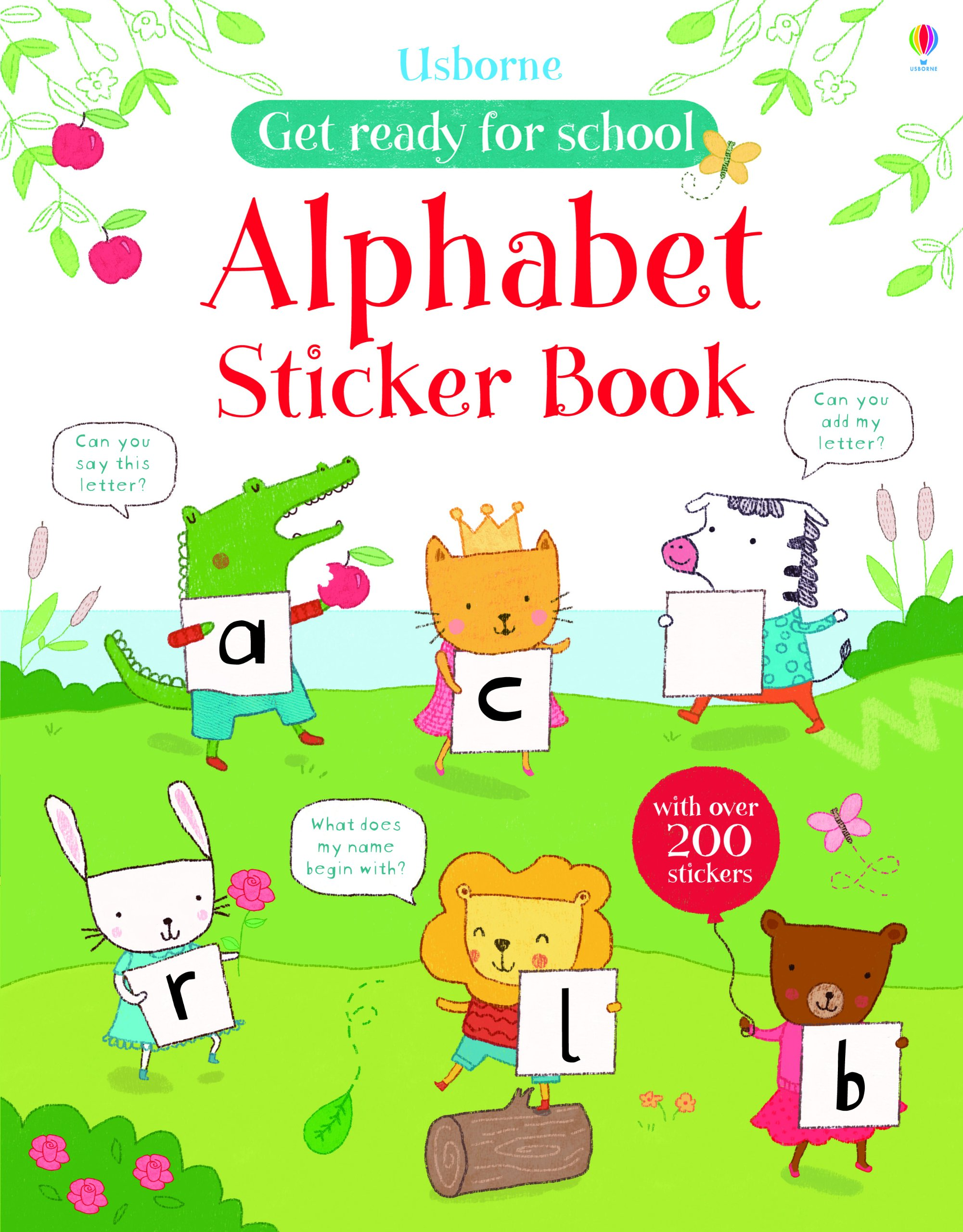 AB Get Ready for School Alphabet Sticker Book
