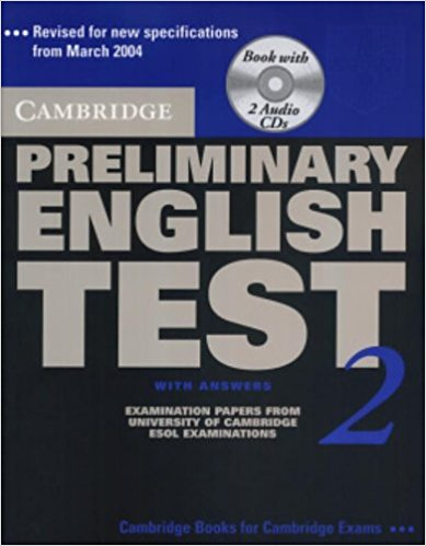 Cambridge PET 2 Self-Study Student's Book with answers + AudioCD