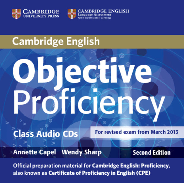 OBJECTIVE PROFICIENCY 2nd ED  Class AudioCD (x2)