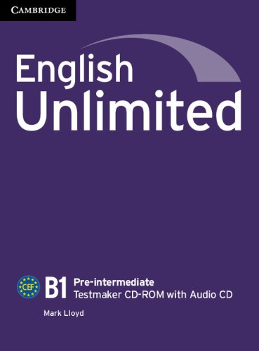 ENGLISH UNLIMITED PRE-INTERMEDIATE Testmaker CD-ROM +Audio CD