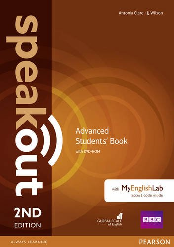 SPEAKOUT  ADVANCED 2nd ED Student's  Book+ DVD-ROM + Accesscode pack