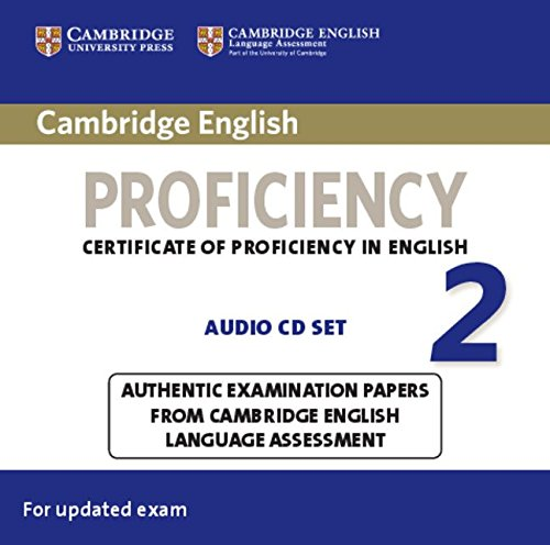 CAMBRIDGE ENGLISH PROFICIENCY 2  Audio CD (x2)