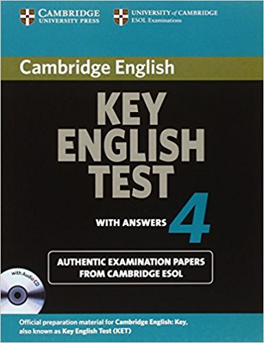 CAMBRIDGE KEY ENGLISH TEST 4 Self-study Pack (Student's Book with Answers + CD-ROM)