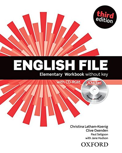 ENGLISH FILE ELEMENTARY 3rd ED Workbook without Key + iChecker