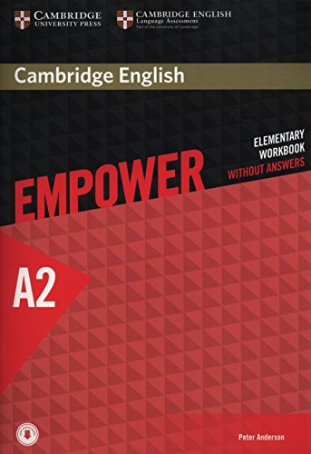 CAMBRIDGE ENGLISH EMPOWER ELEMENTARY Workbook without answers + Downloadable Audio