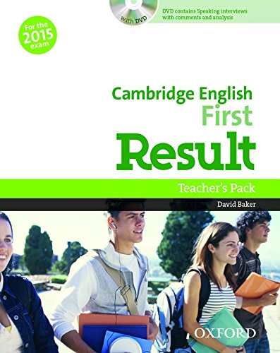 Cambridge English First Result  Teacher's Book Pack (2015 exam)