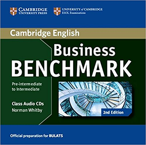 BUSINESS BENCHMARK PRE-INTERMEDIATE/INTERMEDIATE 2nd ED BULATS Class Audio CD