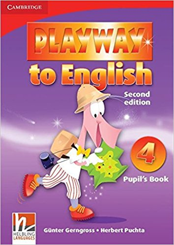 PLAYWAY TO ENGLISH 2nd ED 4 Pupil's Book