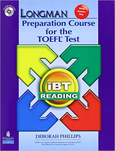 LONGMAN PREPARATION COURSE TO THE TOEFL TEST IBT READING Student's Book with Answers + CD-ROM