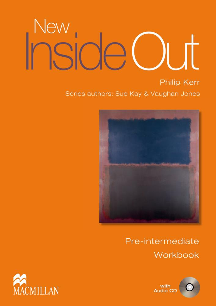 NEW INSIDE OUT Pre-Intermediate Workbook without Key + Audio CD