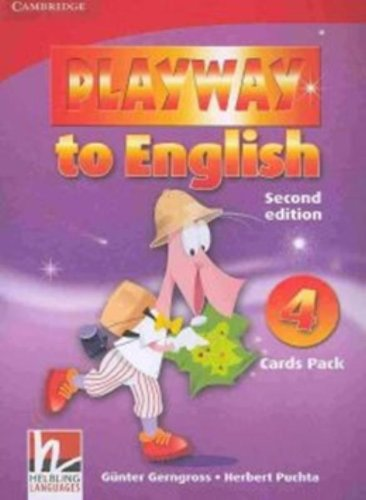 PLAYWAY TO ENGLISH 2nd ED 4 Cards Pack