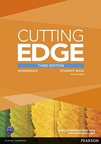 CUTTING EDGE INTERMEDIATE 3rd ED Student's Book+DVD