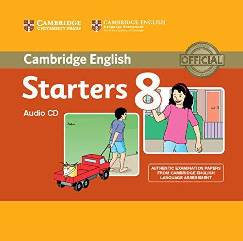 CAMBRIDGE YOUNG LEARNERS ENGLISH TESTS Starters 8 Cass Audio CD