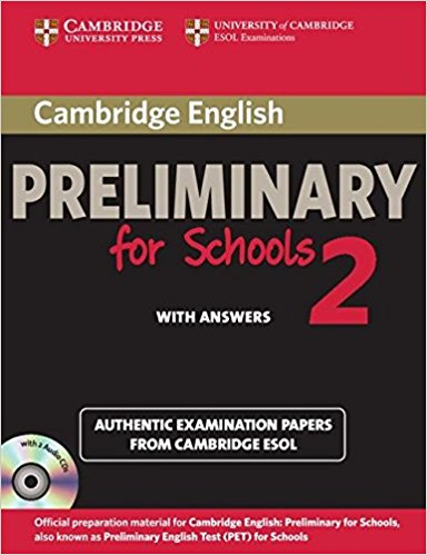 Cambridge PET for Schools 2  Self-study Pack (Student's Book with answers + AudioDx2)