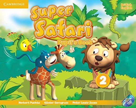 SUPER SAFARI 2 Pupil's Book + DVD-ROM