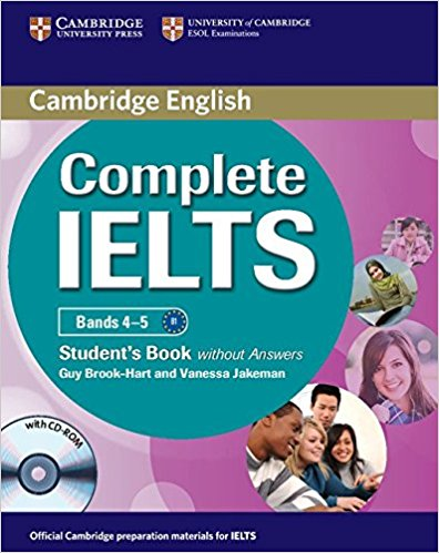 COMPLETE IELTS Bands 4-5 Student's Book without Answers + CD-ROM