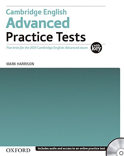 CAMBRIDGE ENGLISH ADVANCED Practice Tests with Answers + Audio CD