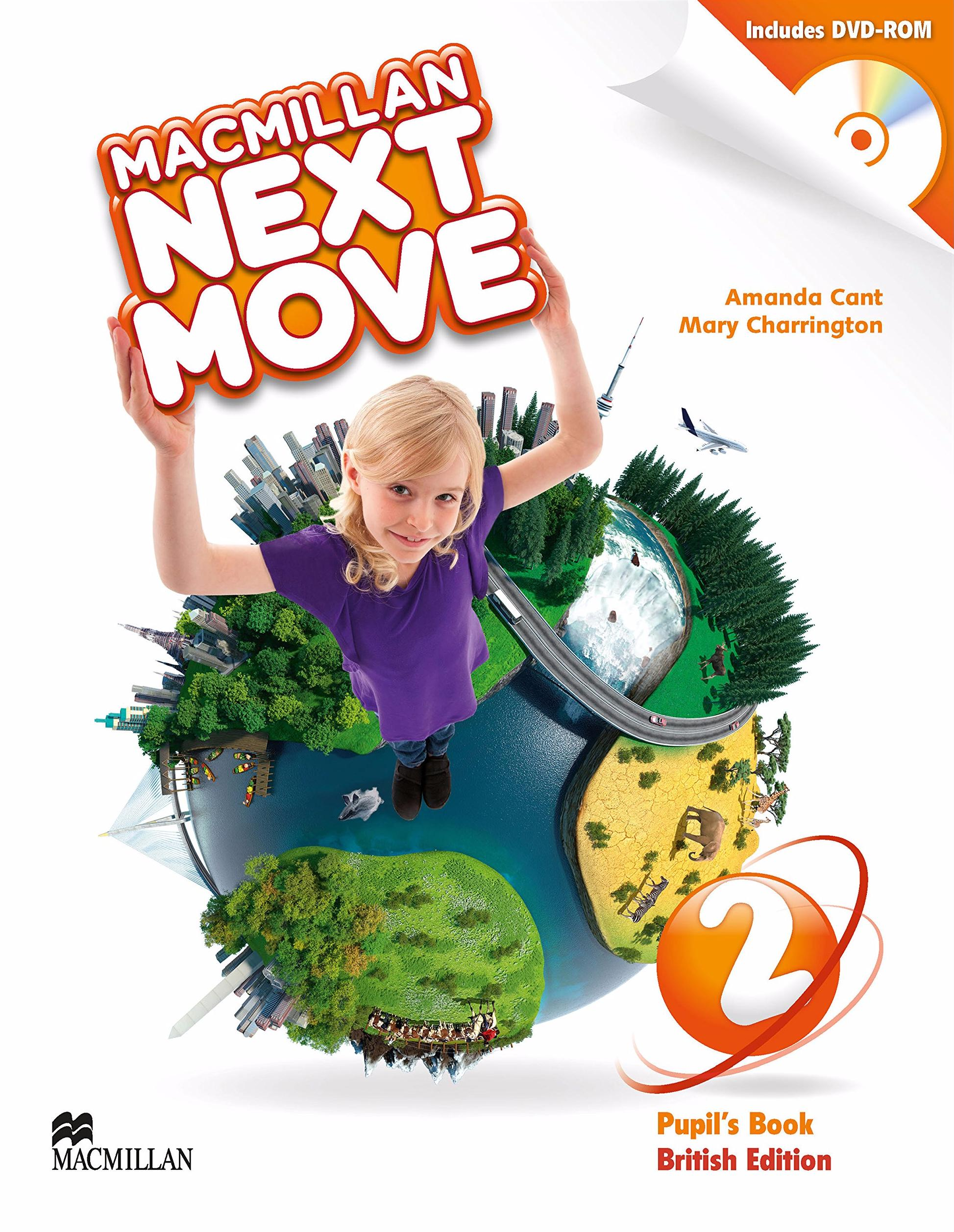 NEXT MOVE 2 Student's Book + DVD-ROM