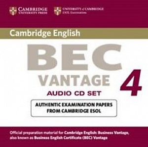 CAMBRIDGE BEC 4 VANTAGE Audio CD