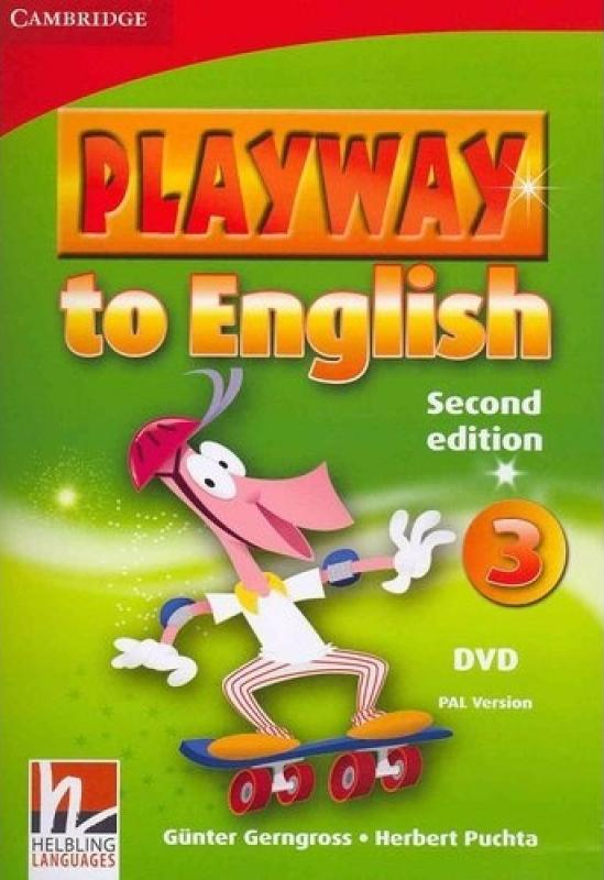 PLAYWAY TO ENGLISH 2nd ED 3 DVD