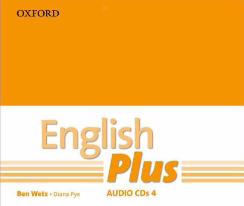 ENGLISH PLUS 4  Class Audio CD (x3)