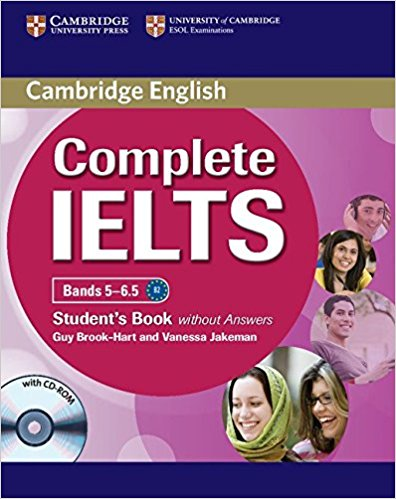 COMPLETE IELTS Bands 5-6.5 Student's Book without Answers + CD-ROM