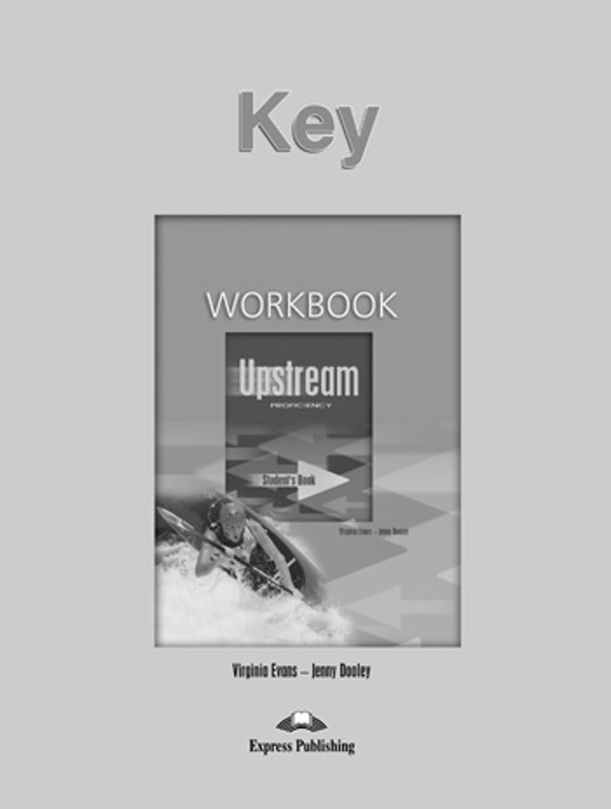 UPSTREAM PROFICIENCY Workbook answers