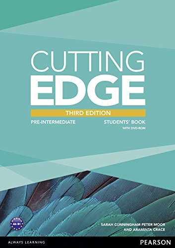 CUTTING EDGE PRE-INTERMEDIATE 3rd ED Student's Book+DVD