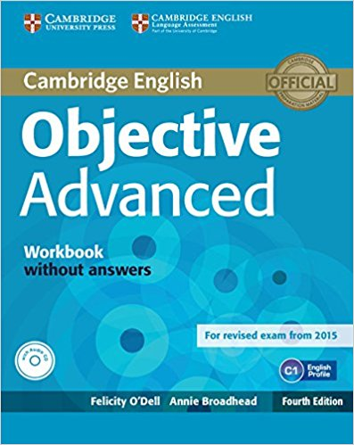 OBJECTIVE ADVANCED 4th ED Workbook without Answers  + Audio CD