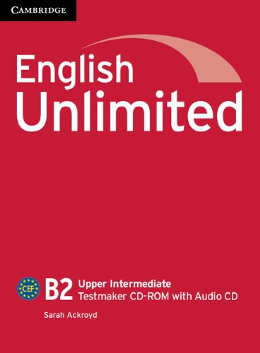 ENGLISH UNLIMITED UPPER-INTERMEDIATE Testmaker CD-ROM +Audio CD