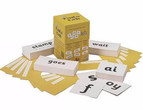 JOLLY PHONICS Cards precursive Set of 4 boxes